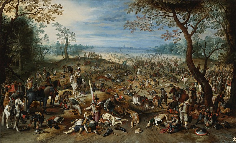 Sebastian Vrancx and Studio and Jan Breughel the Younger - The Aftermath of a Battle