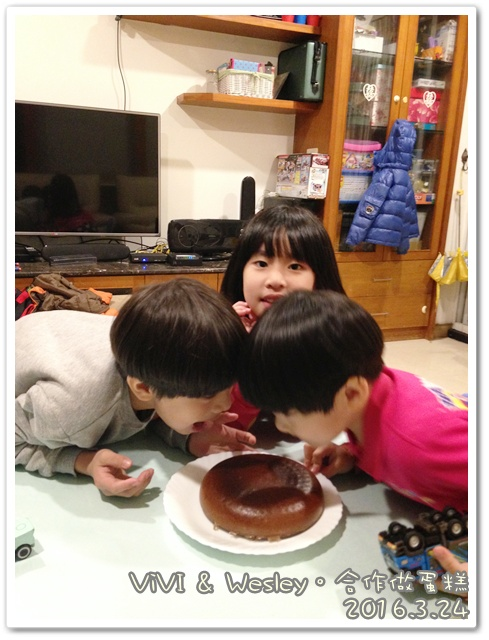 和vivi一起完成電鍋蛋糕 005