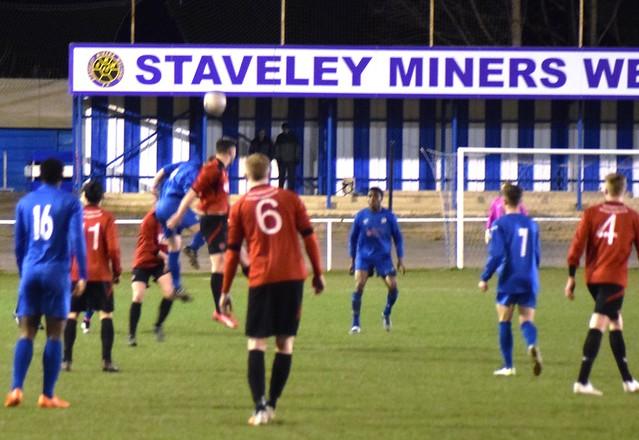 Chesterfield U21 0 - 1 AFC Mansfield U21