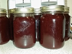 Making Kalyna (AKA Cranberry Jelly)  From highbush…