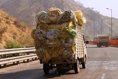 Between Jaipur and Fatehpur Sikri