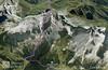 Linie trasy v Google Earth.