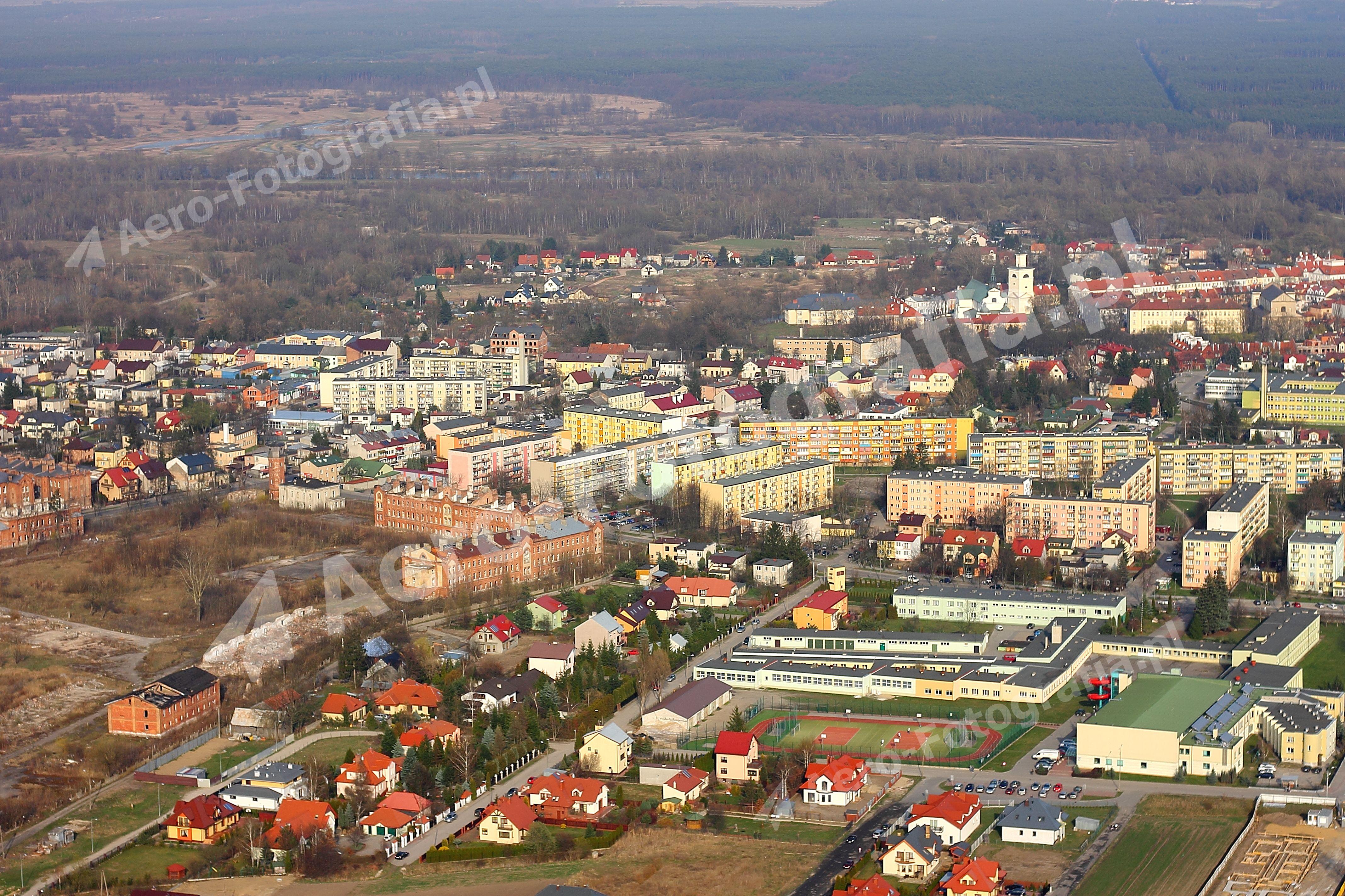 Pułtusk - północna panorama.