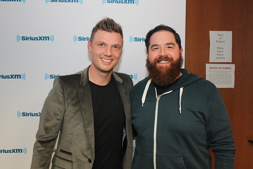 Nick Carter of the Backstreet Boys on the Covino & Rich Show