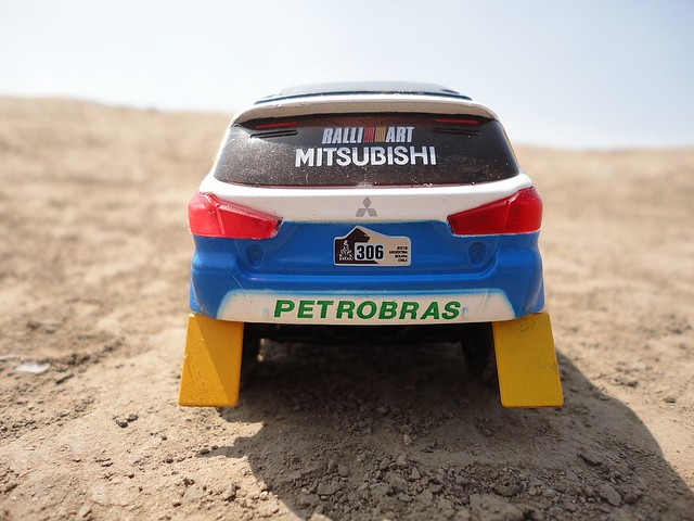 Mitsubishi ASX Racing (2015) 1/43 (PCT-IXO)