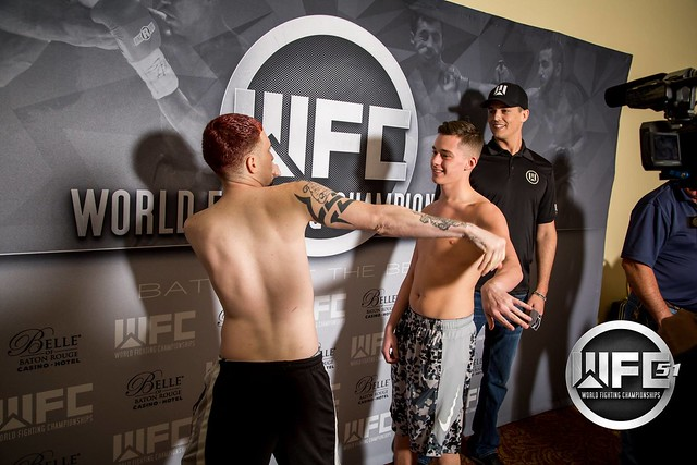 WFC 51 Weigh-Ins at the Belle Of Baton Rouge April 14th,2016