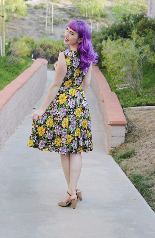 Trashy Diva Louise Dress in Victory Floral Print