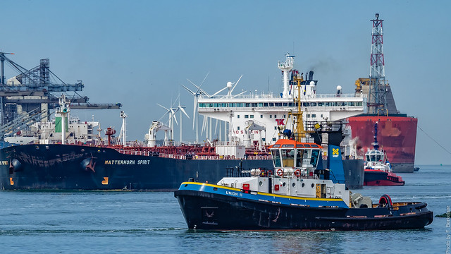 Sleepboot/Tug - Smit Union 11 - Calandkanaal - Port of Rotterdam