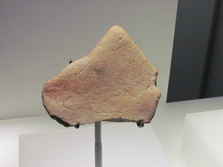 Prehistoric Bison Drawing at Objects at WA Museum