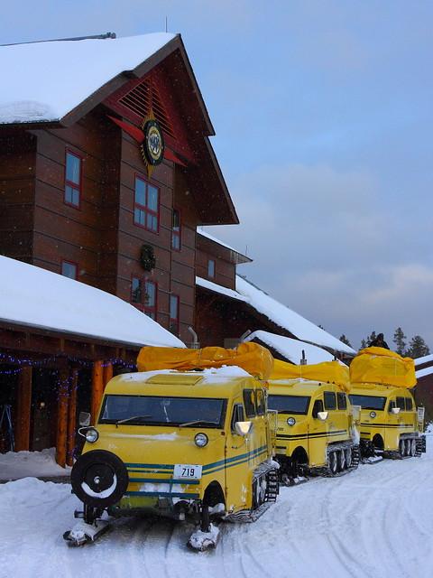 IMG_5671 Bombardier at Old Faithful Snow Lodge