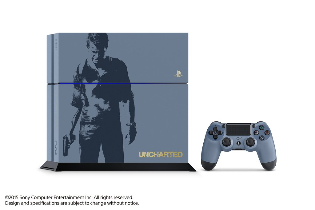 Limited Edition Uncharted 4 PlayStation 4 Bundle
