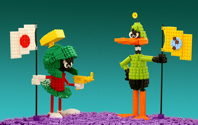 Marvin the Martian and Duck Dodgers
