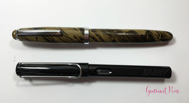 Review Gama Popular Fountain Pen - Flex @FPRevolution (7)