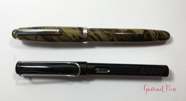 Review Gama Popular Fountain Pen - Flex @FPRevolution (7)