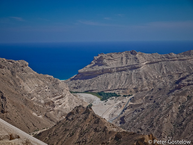 Coastal view in Southern Oman