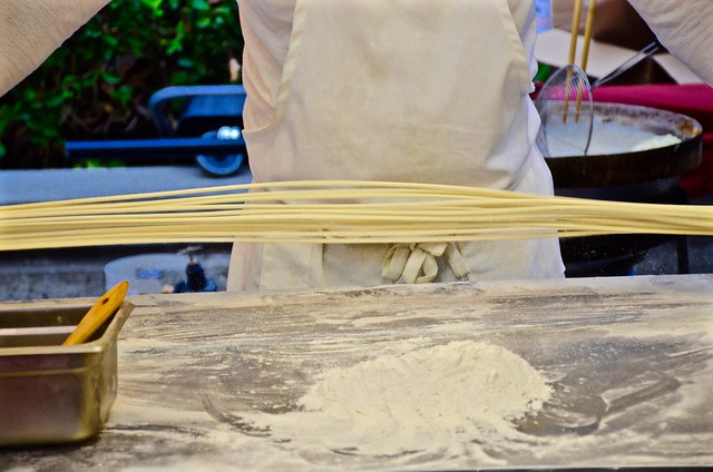 asian american expo hand pulled noodles