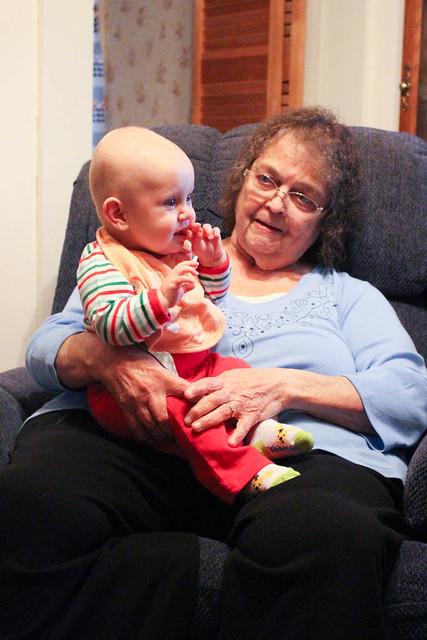 Great Grandmas Miller + Peyton