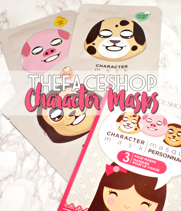 THEFACESHOP character mask set (3)