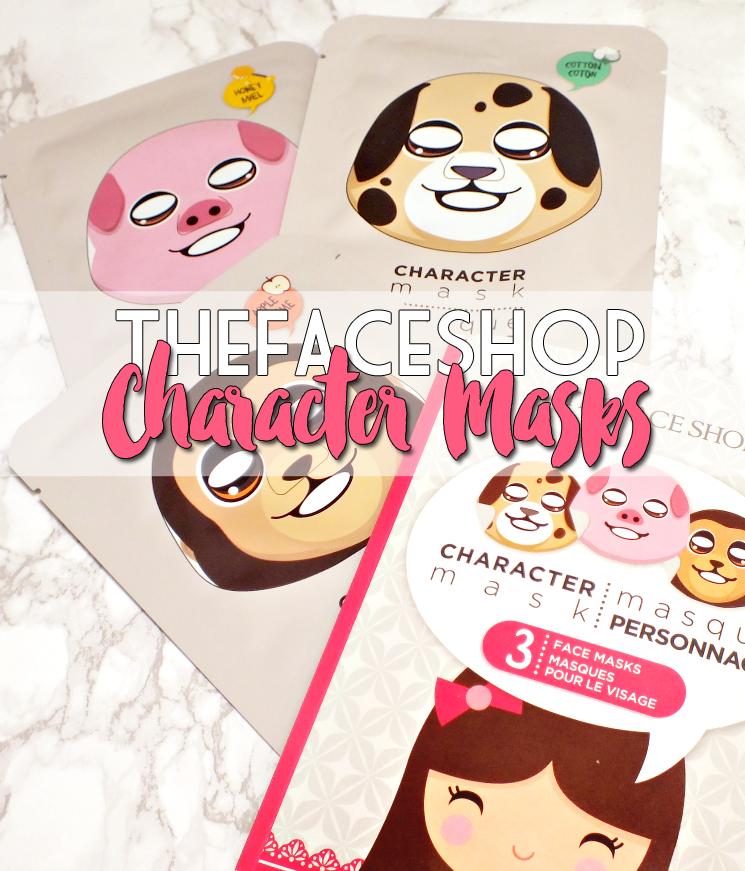THEFACESHOP character mask set (3)