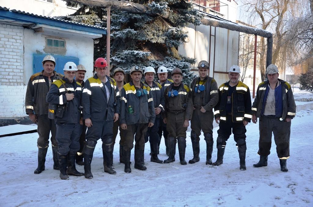 Государственная комиссия по приемке 5025 лавы после шахты