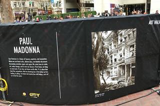 Super Bowl City - Art Walk Paul Madonna