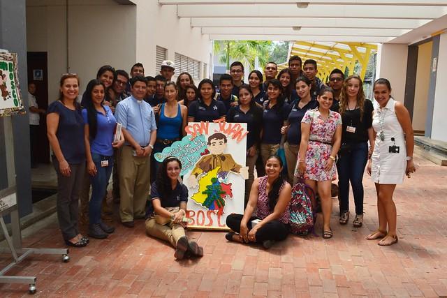 Concurso de Carteleras alusivas a San Juan Bosco