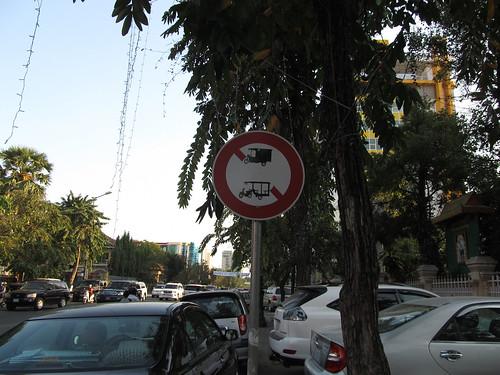 Phnom Penh: interdiction de stationnement pour les tuk-tuk