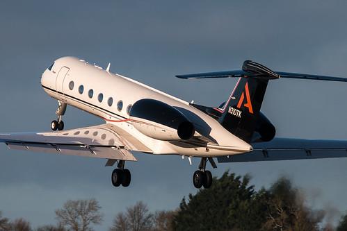 WFBN opf Alltech Gulfstream Aerospace G.V-SP 550 N310TK C-N 5028 EIDW 070116-7
