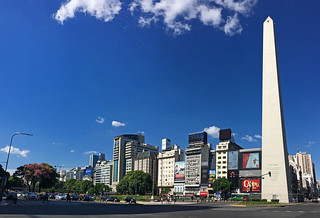 Buenos Aires - Obelisco Ave 9 de Julio
