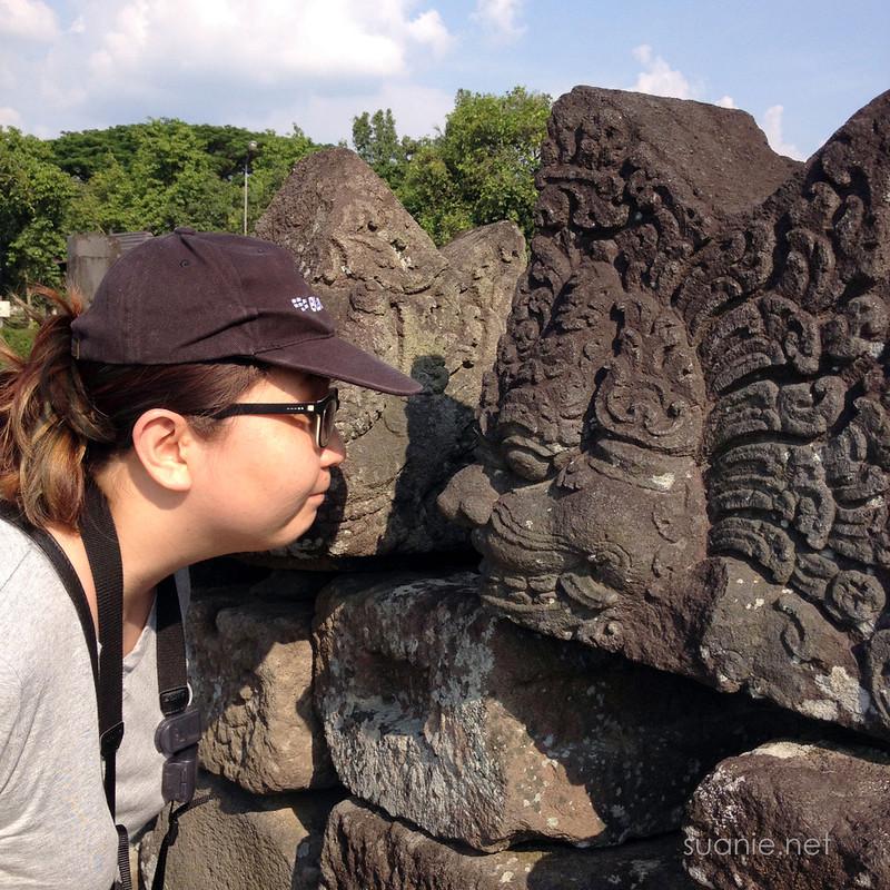 Prambanan, Yogyakarta - Candi Prambranan carving