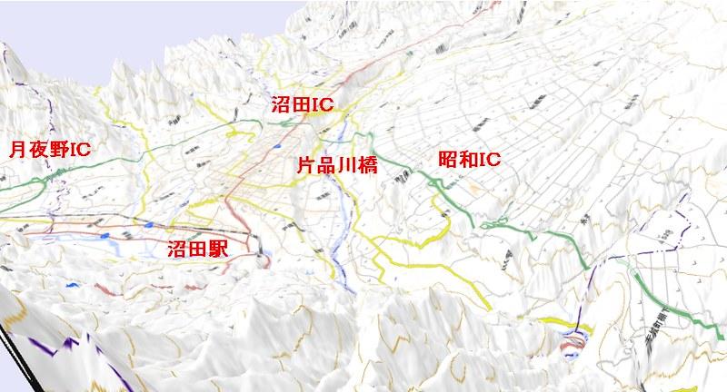 関越道と沼田ダム (4)