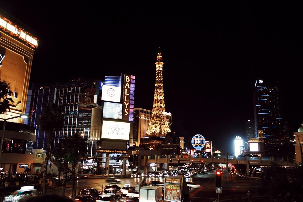 Las Vegas Paris Hotel Eifelturm