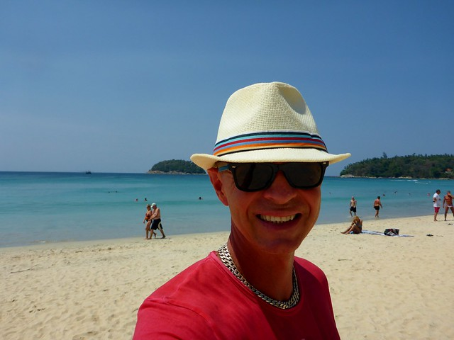am Katabeach in Thailand