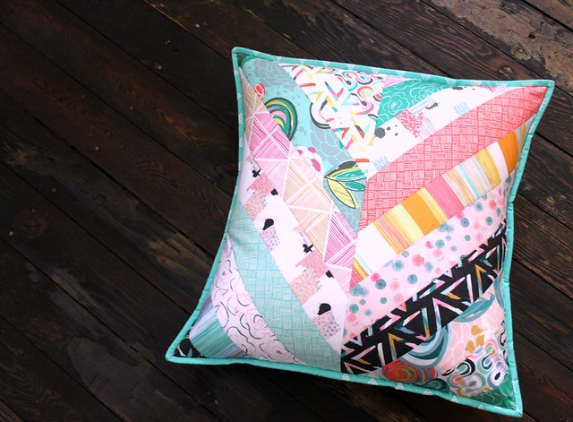 Chalk Paint Pillow