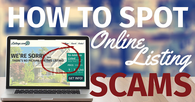 How to Spot Online Home Listing Scams