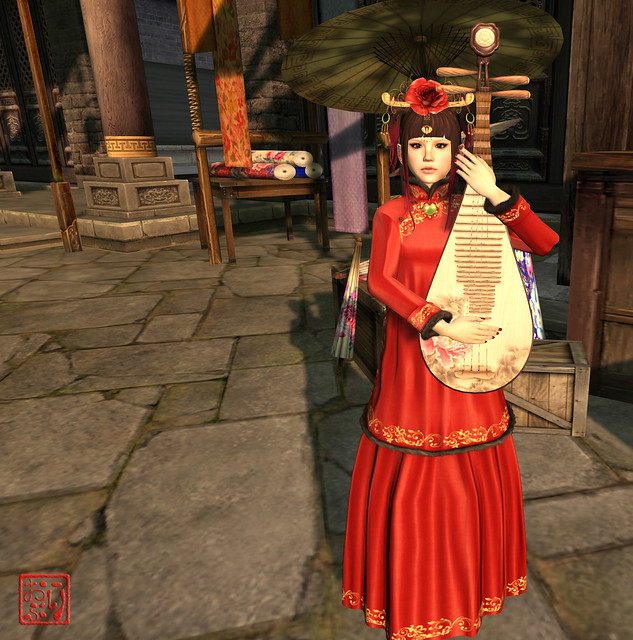 Chinese ~ Xi Xiang Feng Dress!