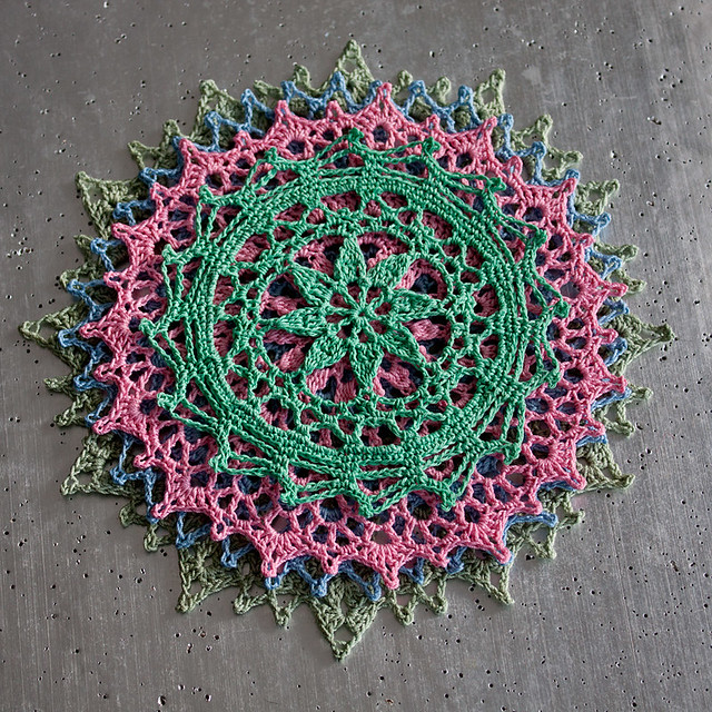 """Stack o' """"Little Doilies"""""""