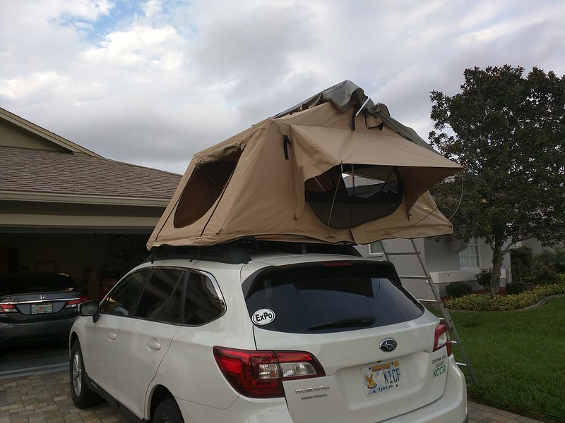 Smittybilt Overlander Tent by Curt Styler on Flickr & SOLD* Smittybilt Overlander Roof Top Tent $600 OBO - *PRICE DROP ...