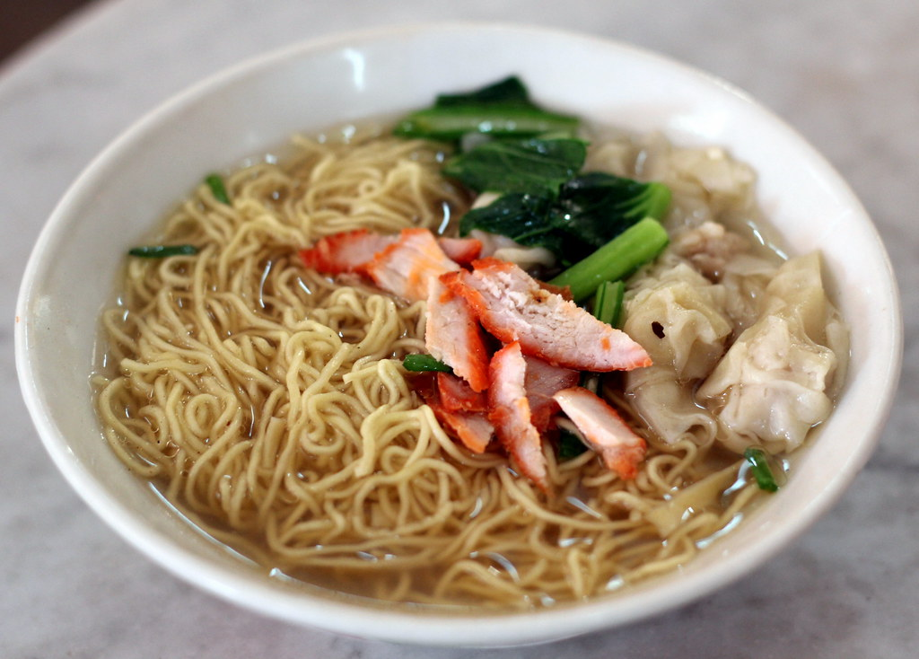 Malacca Food Guide: Heng Huat Kopitiam Wanton Mee Soup