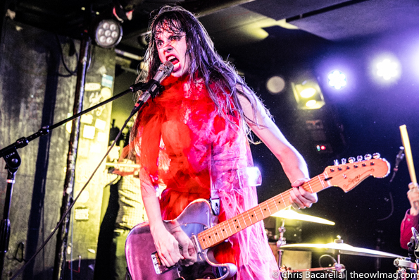 Le Butcherettes @ Webster Hall, NYC 3.7.16-21