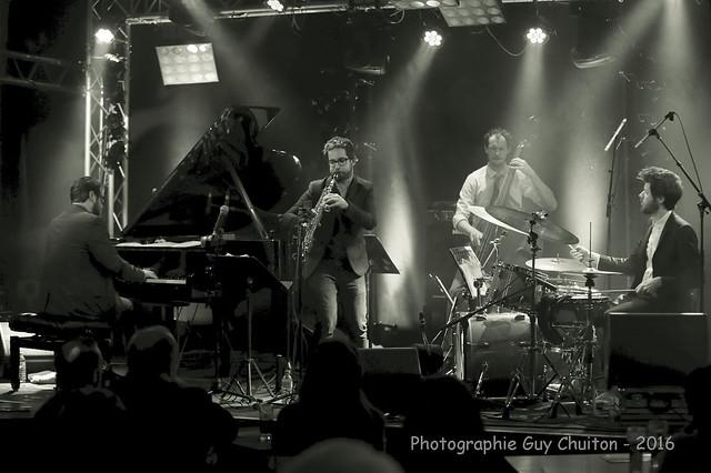 Émile Parisien quartet - jeudi 10 mars 2016 au Vauban