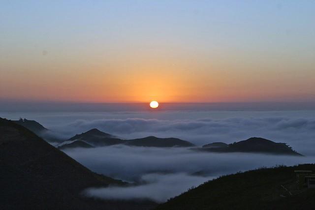 tbt: malibu sunrise