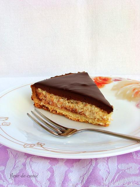 кокосово-шоколадный тарт 3