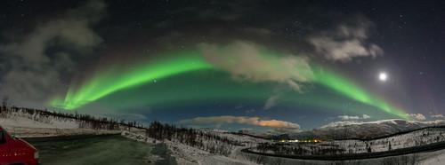 Nordlys Panorama 14/03/16