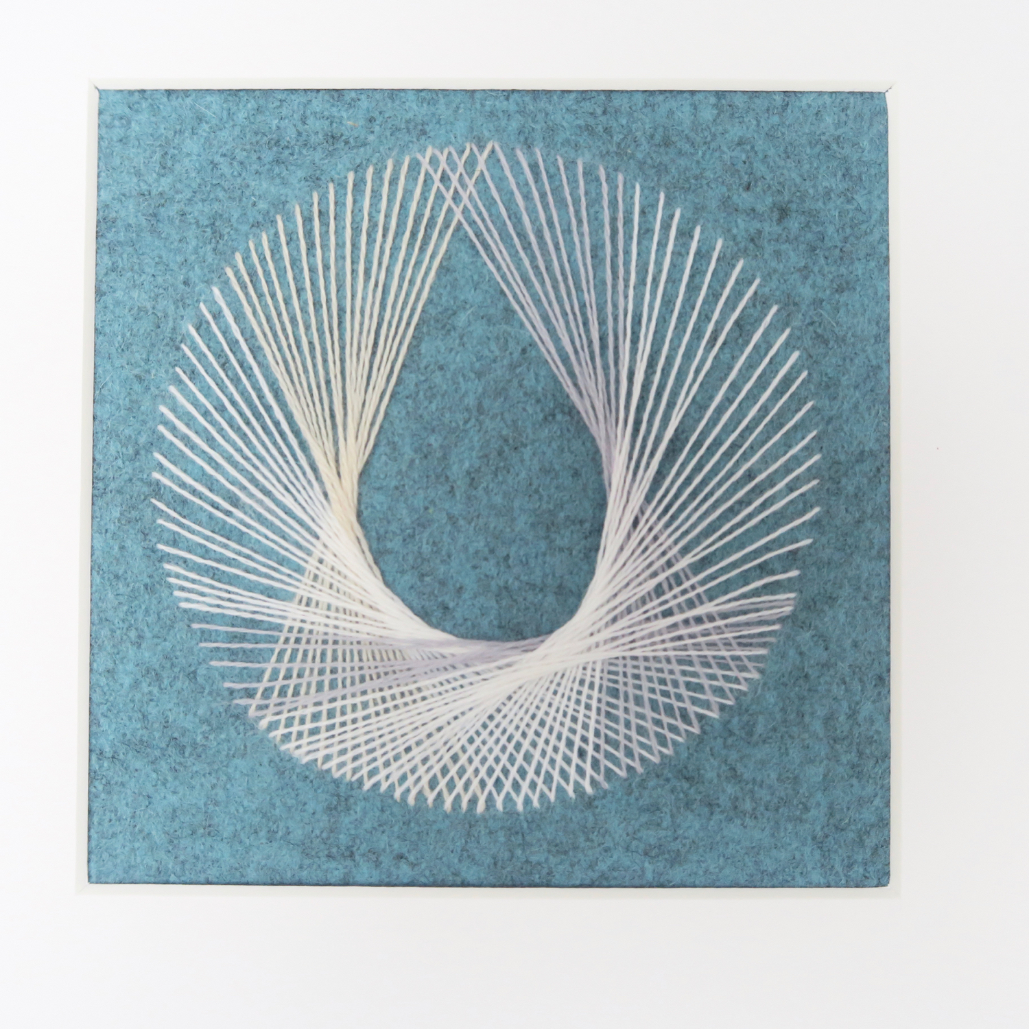 teardrop string art