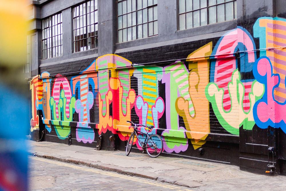 Nothing wall art painting Soho House london