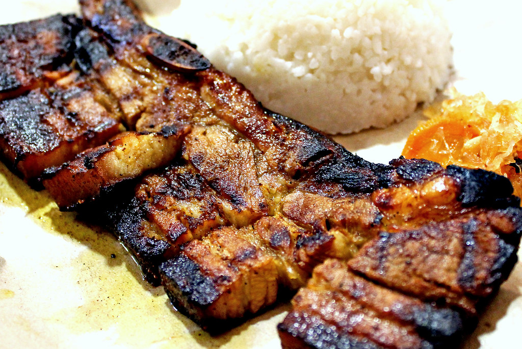 Orchard Road: Inasal Philippine Barbecue Pork Belly