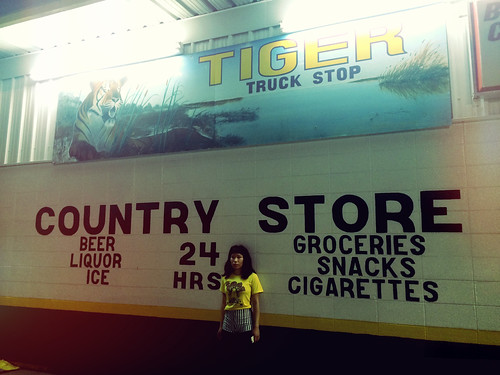 Tiger Truck Stop in Louisiana (March 22 2015)