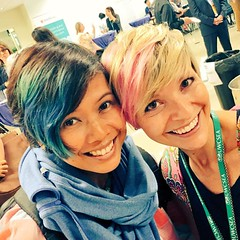 Hair twins! Love the #sisrocks posse. Powerful women in one place. Wowza. Thanks for the introduction, @ceci_gg #rethinkinglit