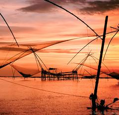 Sunrise At Lake Phatthalung